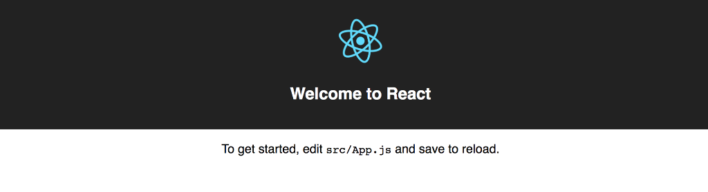 welcome to react sign