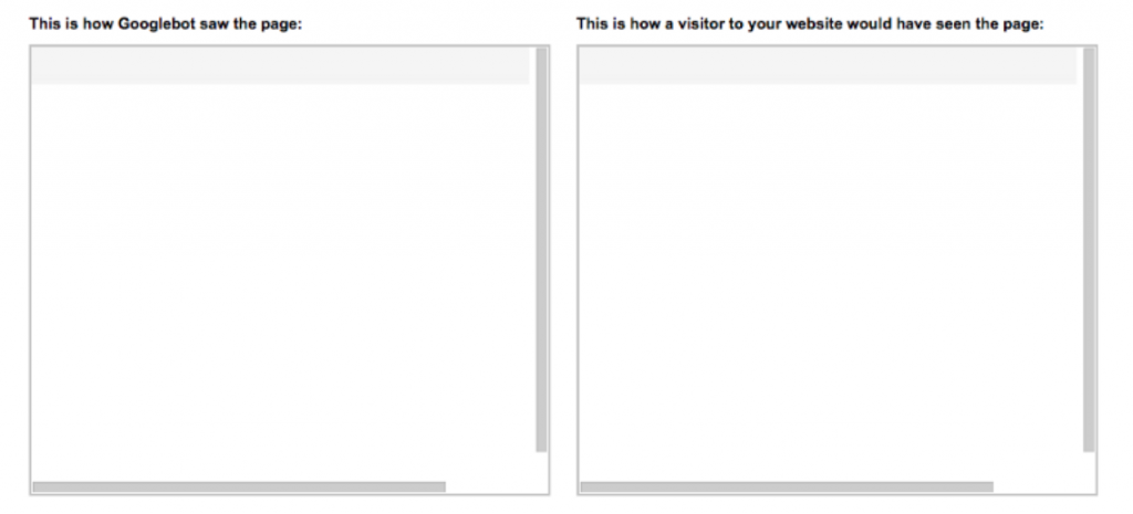 how google and visitors sees your page