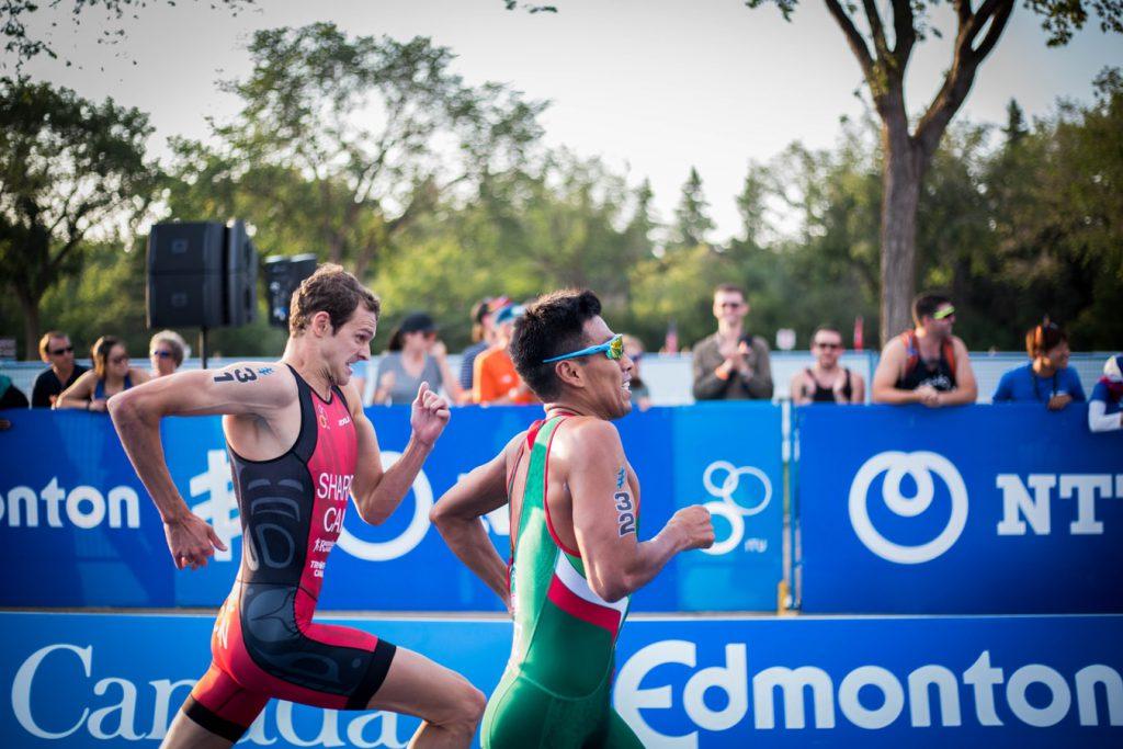 two man running on a marathon