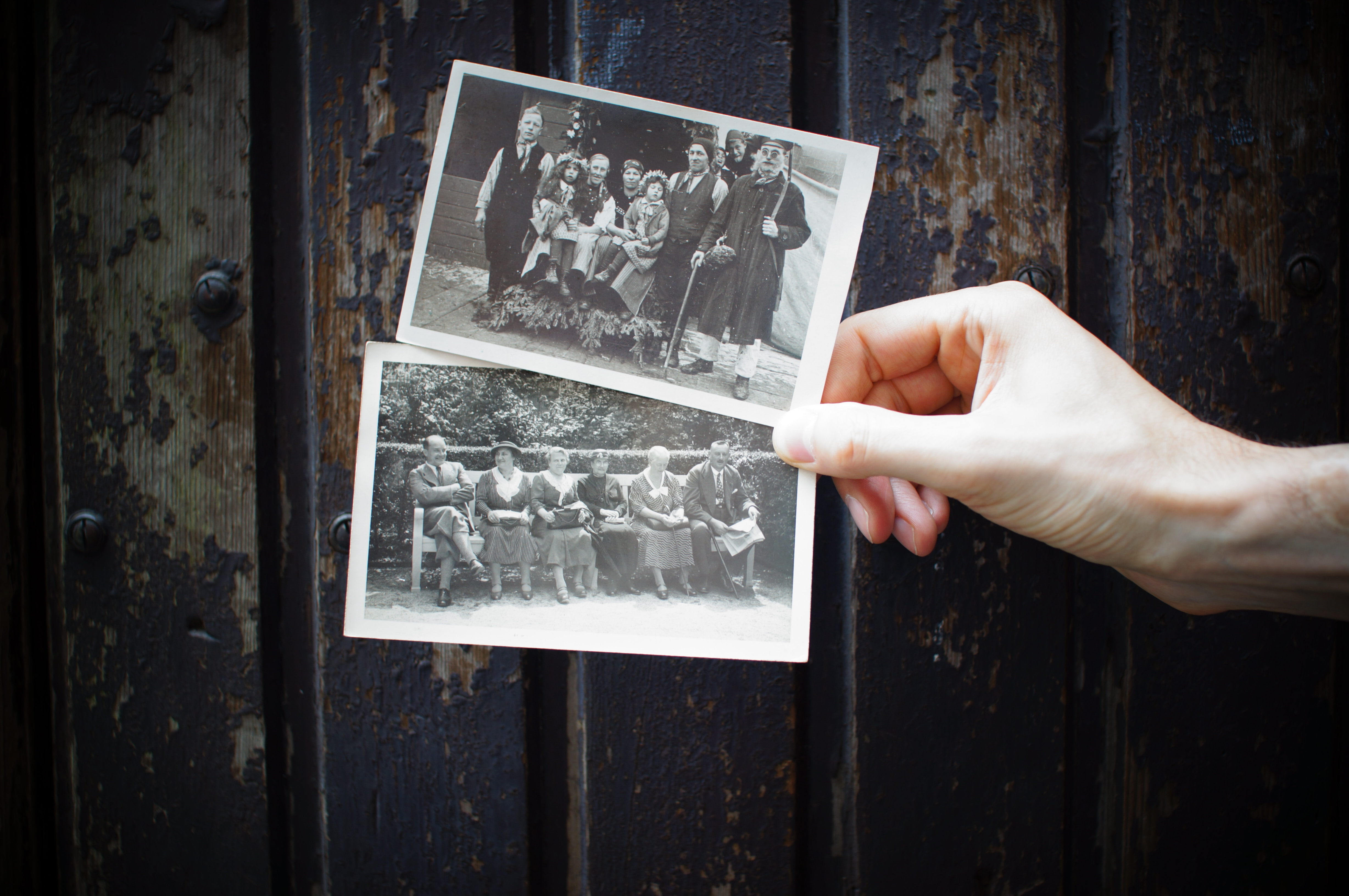 family from different times pictures