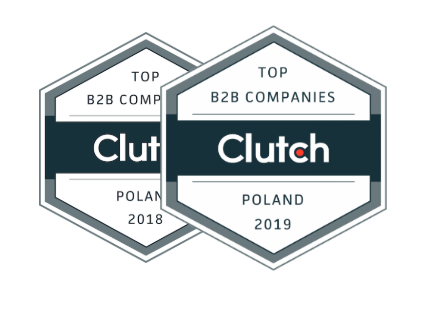 pagepro badges of top b2b companies in 2019 and 2018