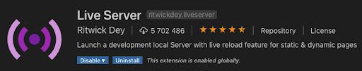 live server vscode plugin