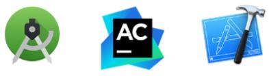 native apps logos