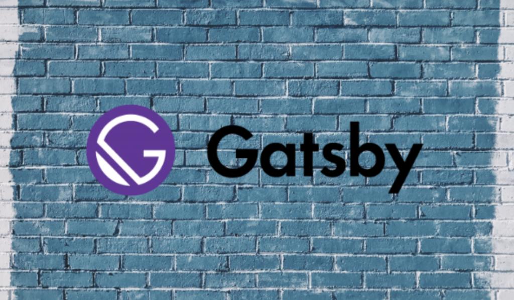 Gatsby logo on the wall