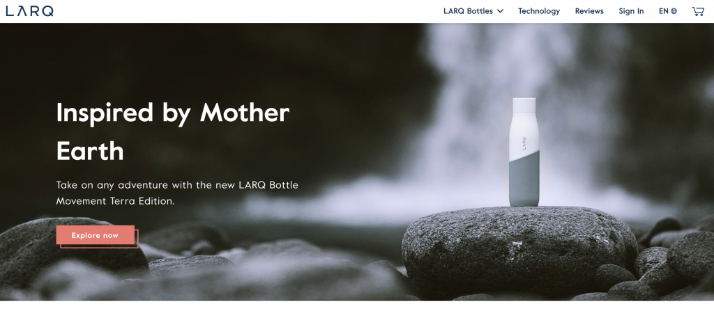 LARQ Website