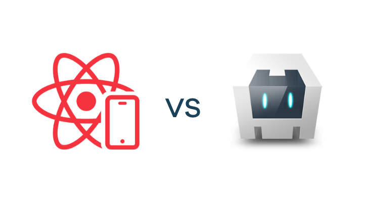 React Native logo vs Cordova logo