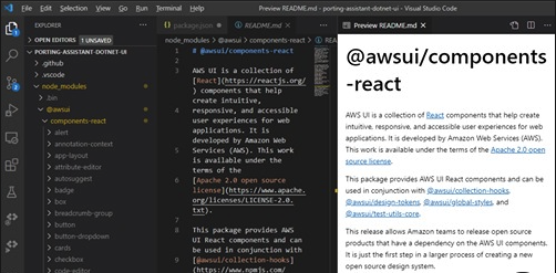 AWS is creating a 'new open source design system' with React