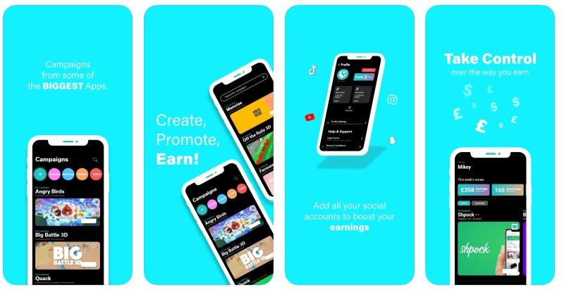 React Native apps: YOKE Network app screenshots
