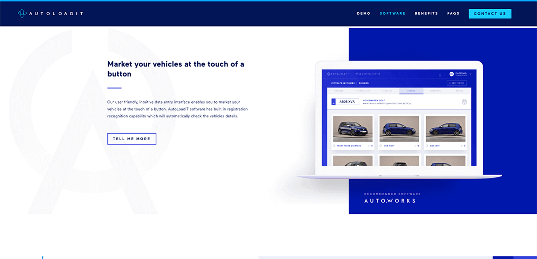 AutoloadIT website