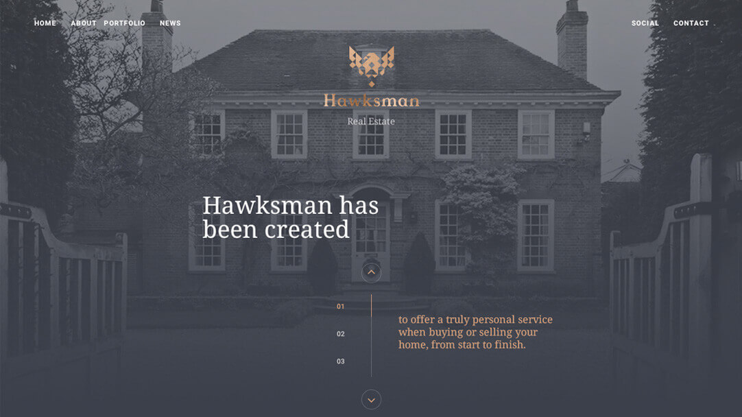 Hawksman Desktop Screenshot