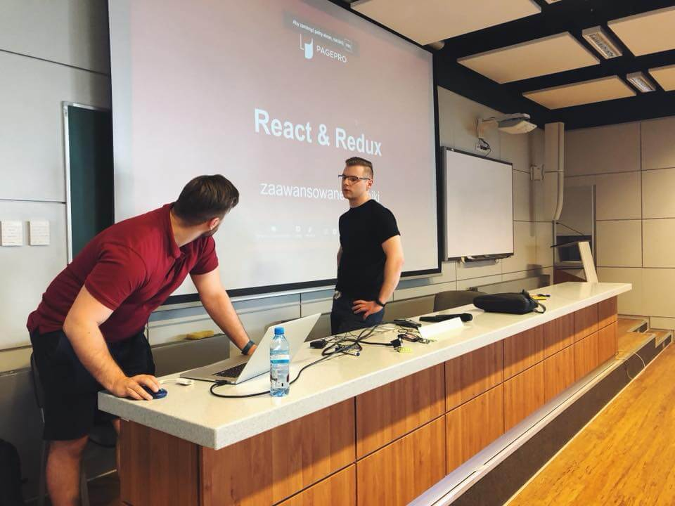 ReactJS lecture at Bialystok University of Technology